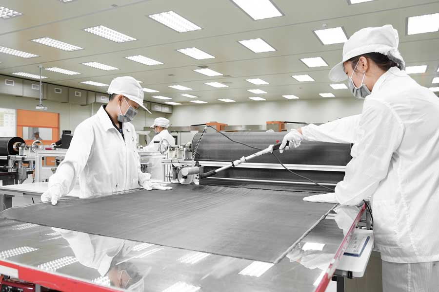 Aerospace composite laminates 4